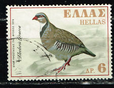 Greece Forest Fauna Bird 1970 stamp