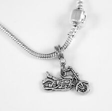 Motorcycle Necklace Biker Gift chain Motorcycle Present Motorcycle Pendent Vtwin