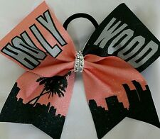 Cheer Bow - Hollywood - Glitter - Hair Bows