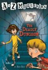 The Deadly Dungeon (A to Z Mysteries), Ron Roy, Good Book