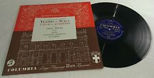 Teatro aqlla Scalla - Love Duets from Tosca - Callas and di Stefano LP - CX 1725