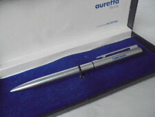 AURORA AURETTA PENNA SFERA IN ACCIAIO PER COSTA CROCIERE +SCATOLA Steel Ball Pen