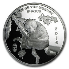 5 oz Silver Round - APMEX (2016 Year of the Monkey) - SKU #91858