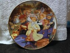 "Franklin Mint "" Teddy Bear Grand Tour "" Plate"