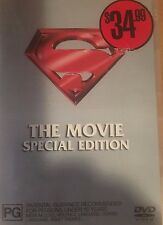 Superman The Movie Special Edition Christopher Reeve Region 4 DVD VGC