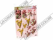FLOWER FAIRIES 3D - SOGGETTI FUSTELLATI PER DECOUPAGE 3D - N. 50
