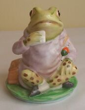BESWICK BEATRIX POTTER JEREMY FISHER (RARE BP2 GOLD BACKSTAMP)