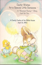 1990 A FAMILY EASTER AT THE WHITE HOUSE American Greetings Sample Card