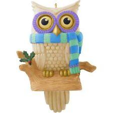 New Hallmark 2014  Whoooo's Watching Owl Solar Powered Magic