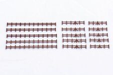Farm Rail Fencing Brown - Kestrel Design GMKD13B - N plastic kit - free post