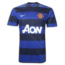 Nike Trikot Manchester United FC 2011/2012 blau - away kit Red Devils size M