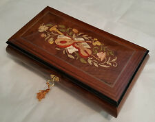 Reuge Large Musical Jewelry Box With 36 Note Reuge MT-Choose Tune In Item Detail