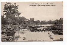 AFRIQUE FRANCAISE colonie française GUINEE FRANCAISE CORRERA barrages de riviere