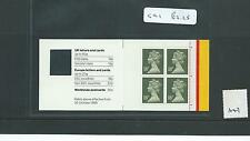 GB - STAMP BOOKLETS  - GC1 - 18p x 4  -  WINDOW -  1 booklet