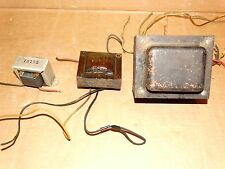 Vintage Tube Power Transformer & Output Transformer + Choke  6L6 5U4  6SN7 DIY