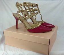 New BCBGeneration Fuchsia Pink Darron Heels Sandals Pumps Size 9