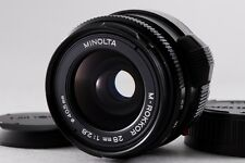 【B V.Good】 MINOLTA M ROKKOR 28mm f/2.8 MF Lens for Leica CL CLE From JAPAN #2276