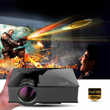 UC46 1200Lumens Portable WiFi Wireless Multimedia LCD/LED Home Theater Projector