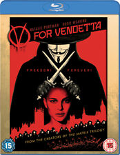 V FOR VENDETTA - BLU-RAY - REGION B UK