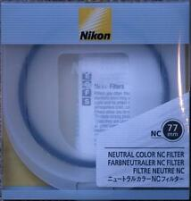 Nikon 77mm NC (Neutral Clear) Filter, London