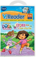 Vtech V.Reader Dora the Explorer Interactive E-Reading System Software