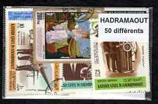 Hadramaout 50 timbres différents