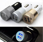 Dual USB Car Charger 2 Port Adapter For Smart Mobile Cell Phone Universal