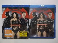 Batman v Superman Dawn Of Justice Ultimate Edition NEW Blu-Ray, DVD, Digital HD