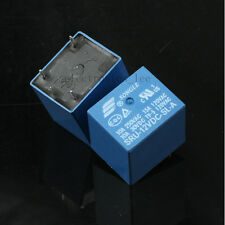 10pcs SONGLE Relay SRU-12VDC-SL-A 4pin 15A 120VAC T70 22F