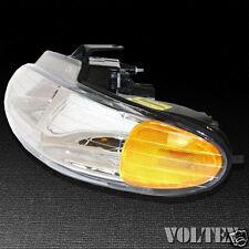 2000 Dodge Caravan Grand Caravan Headlight Lamp Clear lens Halogen Left Side