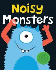 Bright Baby Noisy Monsters (Bright Baby Sound Books)-ExLibrary
