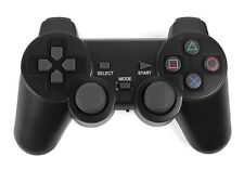 POP Wireless 2.4GHz Black PS2 Great Games Vibration Shock Game  Sony Controller