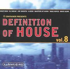 Definition of House 8 (CD) Various Artists