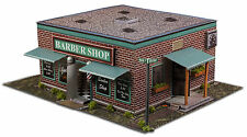 "BK 4809 1:48 Scale ""Barber Shop"" Photo Real Scale Building Kit"