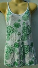 Topshop green and White racerback summer strappy top / vest top 8