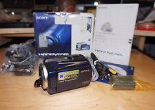 Sony DCR-SR47/L 60 GB Camcorder -  Blue