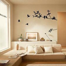Yard Sell Tree Bird Large Room Decor Home Decals DIY Removable Wall Sticker