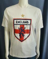 England 2014 FIFA World Cup Brazil T-Shirt Medium Crest Offical