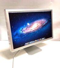 """23"""" Apple Cinema Display A1082 MONITOR LCD Grade buona condizione PSU (90W)"""