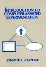Introduction to Computer-Assisted Experimentation Ratzlaff, Kenneth L. Hardcove