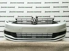 VW TOURAN CADDY 2015-2016 FRONT BUMPER FULLY COMPLETE IN WHITE NEW!! [V215]