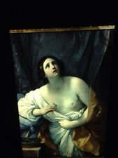 "Guido Reni ""Suicide Of Cleopatra"" 35mm Italian High Baroque Art Slide"