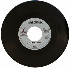 "ELOISE LAWS  ""LOVE FACTORY""   MONSTER NORTHERN SOUL / MODERN      LISTEN!"