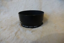 GENUINE  Asahi PENTAX 85mm f2 2.8 100mm f4 clip in SMC lens hood 49mm plastic