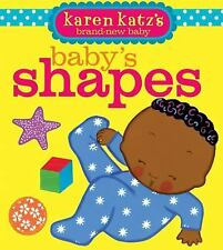 Baby's Shapes by Karen Katz ( Board Book)