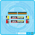 Jack Taylor Bicycle Decals Transfers - Stickers - Set 1