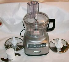 COMPLETE KitchenAid KFC0711CUO  7 Cup Food Processor  Countour Silver