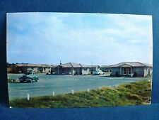 Postcard FL Tallahassee Flagstone Motor Court 1950's Old Cars