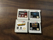 Resident Evil Revelations + Street Fighter IV + Splinter Cell + Driver (3DS LOT)