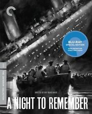 Night to Remember [Criterion Collection] (2012, REGION A Blu-ray New)